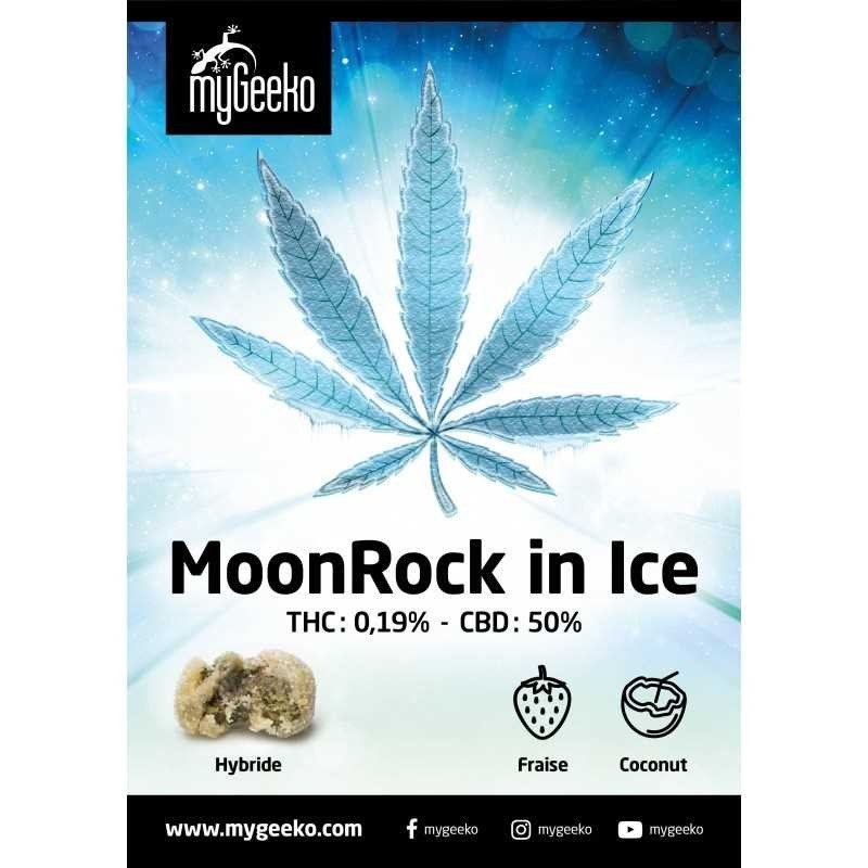 Moonrock in Ice